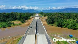 Jalan tol Trans Sumatera (Foto: Dok. Kementerian PUPR)