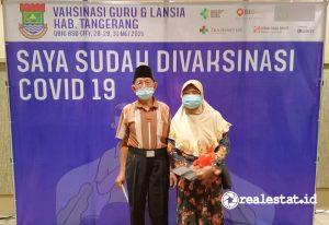 Sinar Mas Land memfasilitasi penyediaan sarana dan prasarana pada sentra vaksin di QBig BSD City yang ditujukan khusus bagi lansia dan guru. (Foto: Dok. Sinar Mas Land)