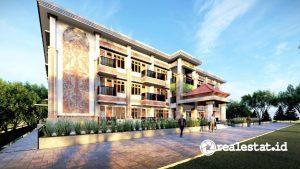 Desain Rusun Sekolah Tinggi Agama Hindu (STAH) di Buleleng, Bali (Foto: Dok. Kementerian PUPR)