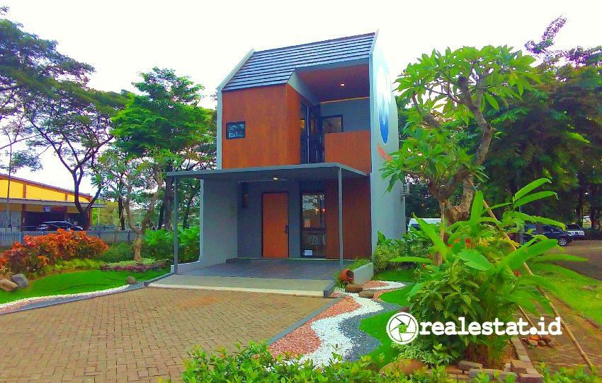 Show unit Cluster O8 Perfect Home, Grand Wisata Bekasi (Foto: realestat.id)