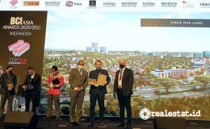 Sinar Mas Land raih beberapa penghargaan internasional dalam sepekan.