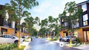 Cluster Cheville Bergaya Urban Modern Minimalis di Grand City Balikpapan (Foto: Dok. Sinar Mas Land)