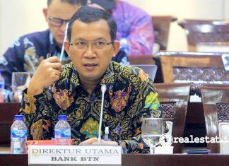 Direktur Utama PT Bank Tabungan Negara (Persero), Tbk., Haru Koesmahargyo bank BTN realestat.id dok