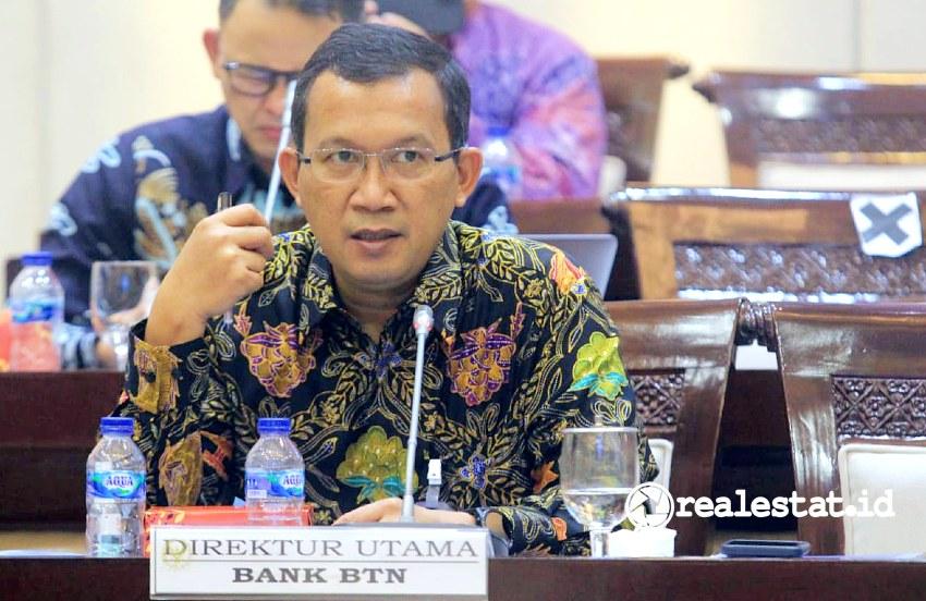 Direktur Utama PT Bank Tabungan Negara (Persero), Tbk., Haru Koesmahargyo (Foto: Dok. Bank BTN)