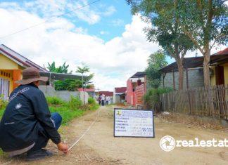 Kementerian PUPR salurkan bantuan prasarana, sarana, dan utilitas PSU di Gorontalo realestat.id dok