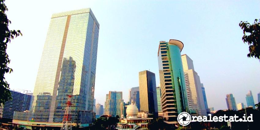 Perkantoran di CBD Jakarta (Foto: Realestat.id)
