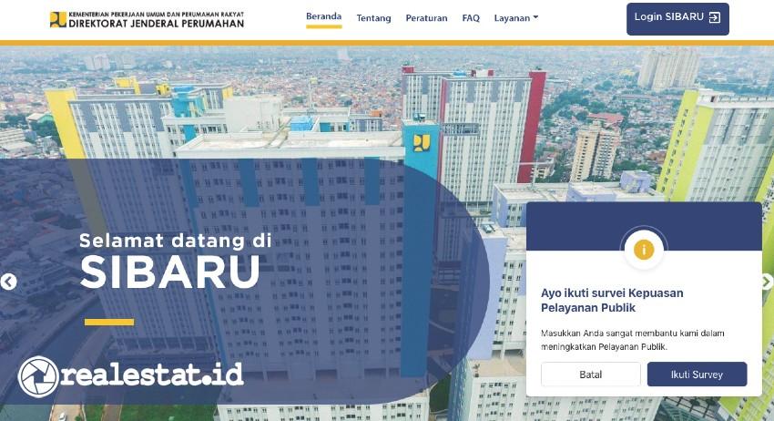 Website SIBARU