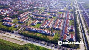 Progres Cluster La Seine di Jakarta Garden City (Foto: Dok. Modernland Realty)