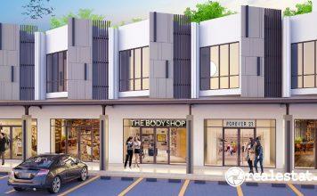 Ruko Golf Boulevard Kota Modern Modernland Realty realestat.id dok