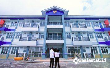 Rusun Mahasiswa Universitas Negeri Manado Unima Kementerian PUPR realestat.id dok