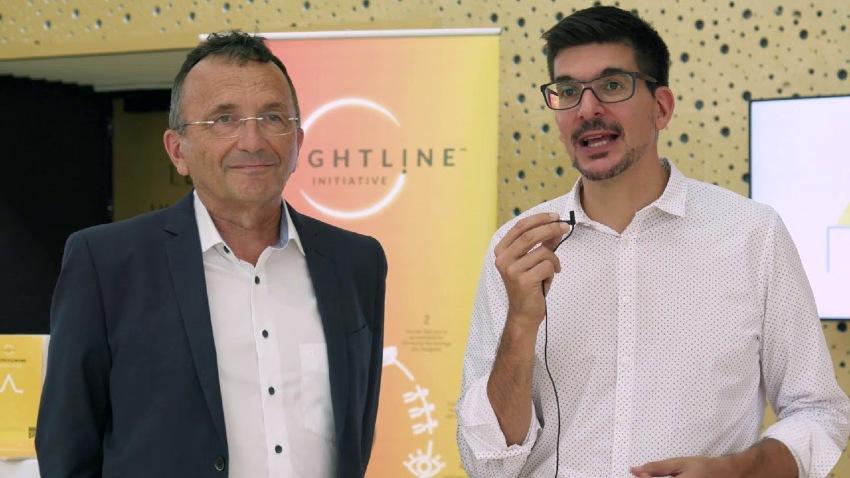 Yves Pigneur dan Alexander Osterwalder dalam sebuah seminar (sumber Thestartupscene.me)