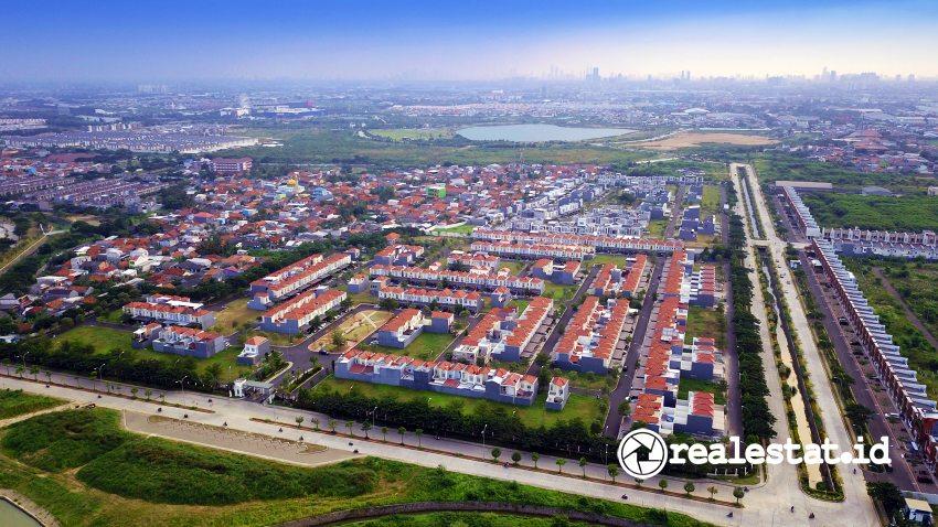 Kawasan Perumahan Jakarta Garden City.