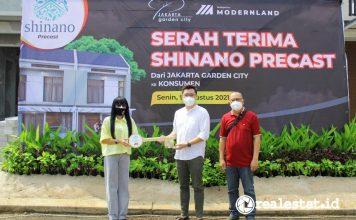 Jakarta Garden City Serah Terima Unit New Shinano Precast Modernland Realty realestat.id dok