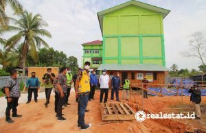 Lokasi Rusun Mahasiswa STAI Mempawah. (Foto: Kementerian PUPR)