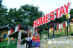 Sarhunta Kampung Warna-warni di Parapat (Foto: dok. Kementerian PUPR)