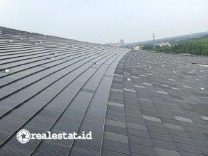 Onduline Indonesia mengeluarkan satu-satunya surya panel berbentuk genteng di Indonesia dan bisa dibeli secara kepingan. (Foto: Istimewa)