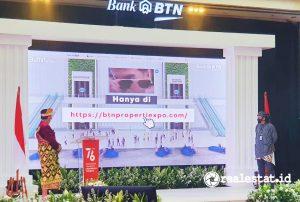 Pembukaan Pameran Virtual KPR BTN Merdeka. (Foto: Dok. Bank BTN)