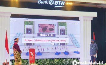 Pembukaan Pameran Virtual KPR BTN Merdeka agustus 2021 realestat.id dok