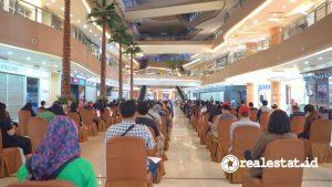 Program Vaksinasi di Grand Metropolitan, Bekasi (Foto: Dok. Metland)