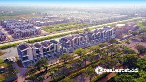 Progres pembangunan New East, Jakarta Garden City (Foto: Dok. Modernland Realty)