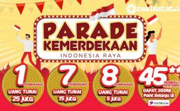 Sharp Share Happiness Parade Kemerdekaan realestat.id dok