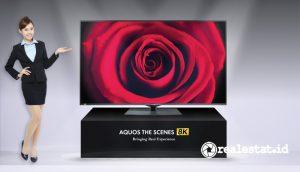 TV Android Sharp Aquos The Scenes 8K (Foto: Dok Sharp)