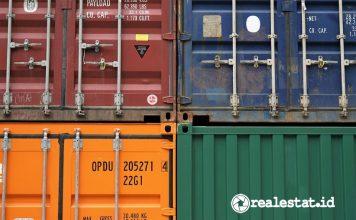 kontainer sektor logistik industri pergudangan asia pasifik indonesia pixabay realestat.id dok