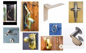 Aneka desain handle pintu. (Foto: Istimewa)