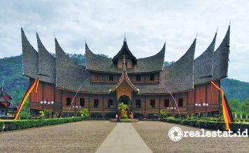 rumah gadang bagonjong arsitektur minang minangkabau pixabay realestat.id dok
