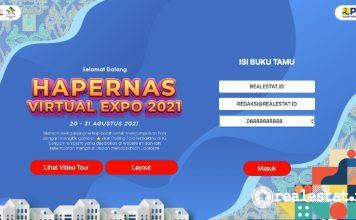 rumah subsidi hapernas virtual expo 2021 kementerian pupr realestat.id dok