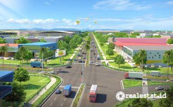 lahan kawasan industri Greenland International Industrial Center GIIC Kota Deltamas Boulevard realestat.id