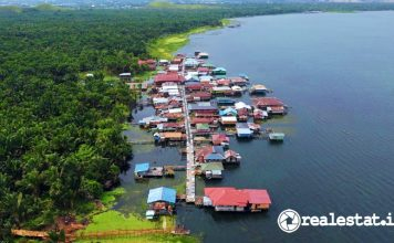 Kampung Wisata Yoboi Asei Papua Kementerian PUPR realestat.id dok