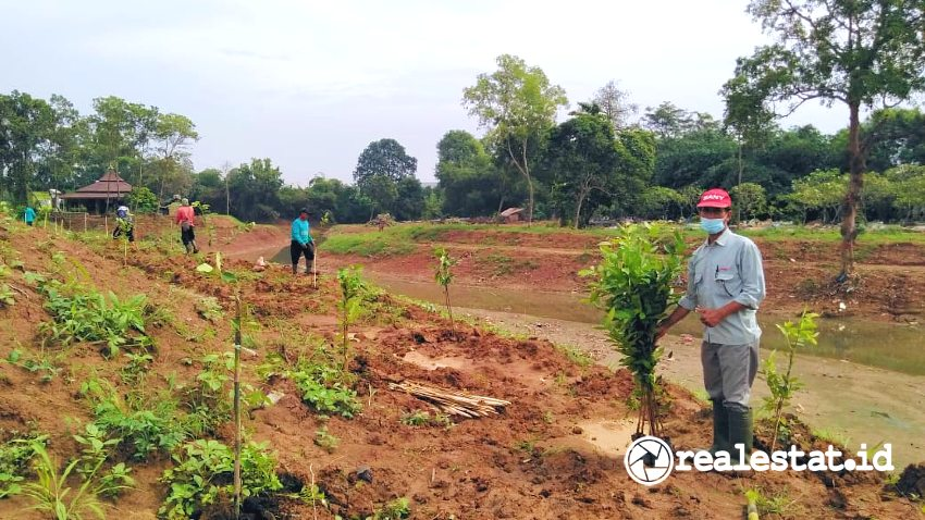 Normalisasi Sungai Kalikalapa (Foto: Dok. Sinar Mas Land)