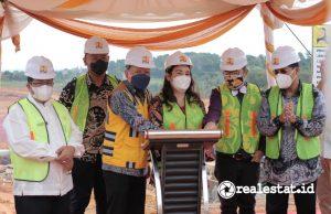 Groundbreaking Rusun STT Real Kota Batam (Foto: Dok. Kementerian PUPR)
