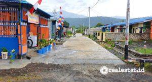 Perumahan Griya Anday di Manokwari Dapat Bantuan PSU Jalan Lingkungan (Foto: Kementerian PUPR)