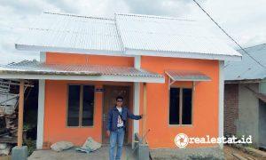 Rumah hasil Program BSPS di Rejang Lebong, Bengkulu (Foto: Dok. Kementerian PUPR)