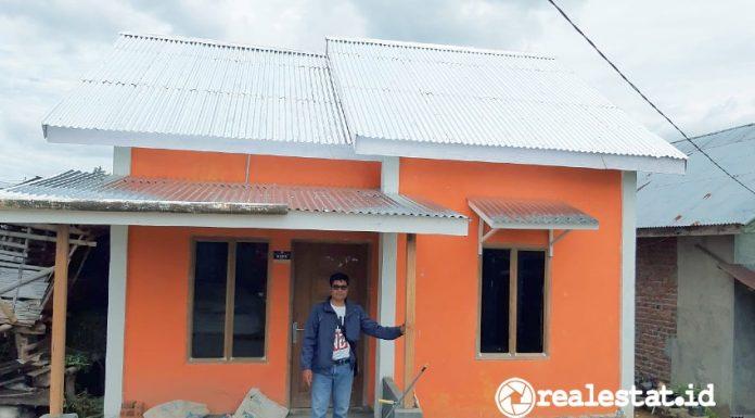 Program BSPS Bedah Rumah Rejang Lebong Bengkulu Kementerian PUPR realestat.id dok