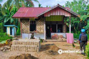 Rumah hasil Program BSPS di Teluk Wondama (Foto: Dok. Kementerian PUPR)