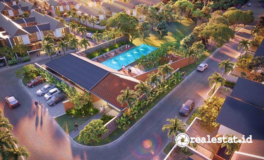 Clubhouse Cluster Resvara, Ciputra Beach Resort. (Foto: Dok. Ciputra Group)