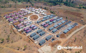 Rumah Khusus Rusus Warga Eks Pengungsi Perbatasan RI Timor Leste Kementerian PUPR realestat.id dok