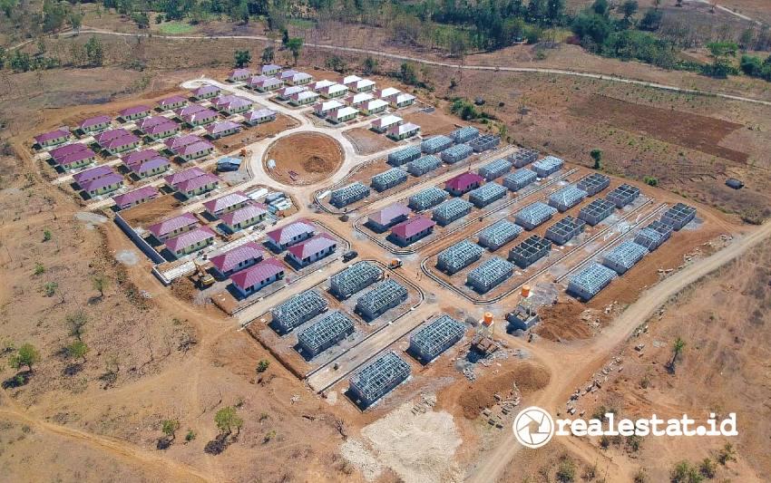 Rumah Khusus Rusus Warga Eks Pengungsi di Perbatasan RI - Timor Leste (Foto: Dok. Kementerian PUPR)