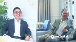 Webinar bertema 'Pilihan Investasi Properti di Lokasi Premium' yang digelar Paramount Land, Selasa (7/9/2021)