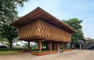 Microlibrary Semarang (Foto: dezeen.com)