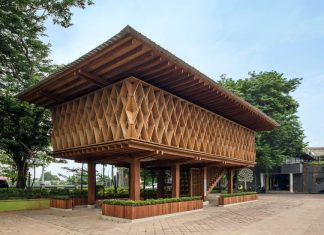 microlibrary-warak-kayu-semarang-indonesia_dezeen material bahan bangunan era arsitektur digital realestat.id dok