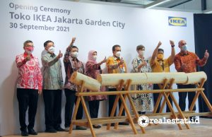 Opening ceremony Toko IKEA di Jakarta Garden City (Foto: Dok. Modernland Realty)