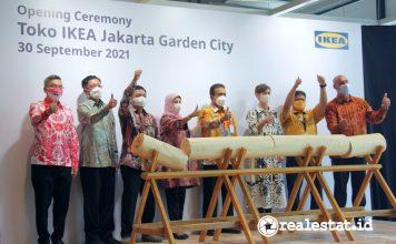 opening ceremony pembukaan Toko IKEA Jakarta Garden City Modernland Realty realestat.id dok
