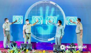 Peluncuran aplikasi Loketku (Foto: Dok. Kementerian ATR/BPN)