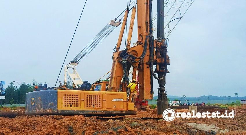 Progres pembangunan Condovilla Paul&Prive, bagian dari proyek Marc's Boulevard Batam (Foto: Triniti Land)