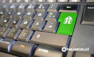 Pencarian properti online. (Foto: Dok. Pixabay.com)