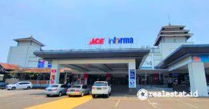 Gerai ACE Hardware dan Informa di Grand Cakung Mall.